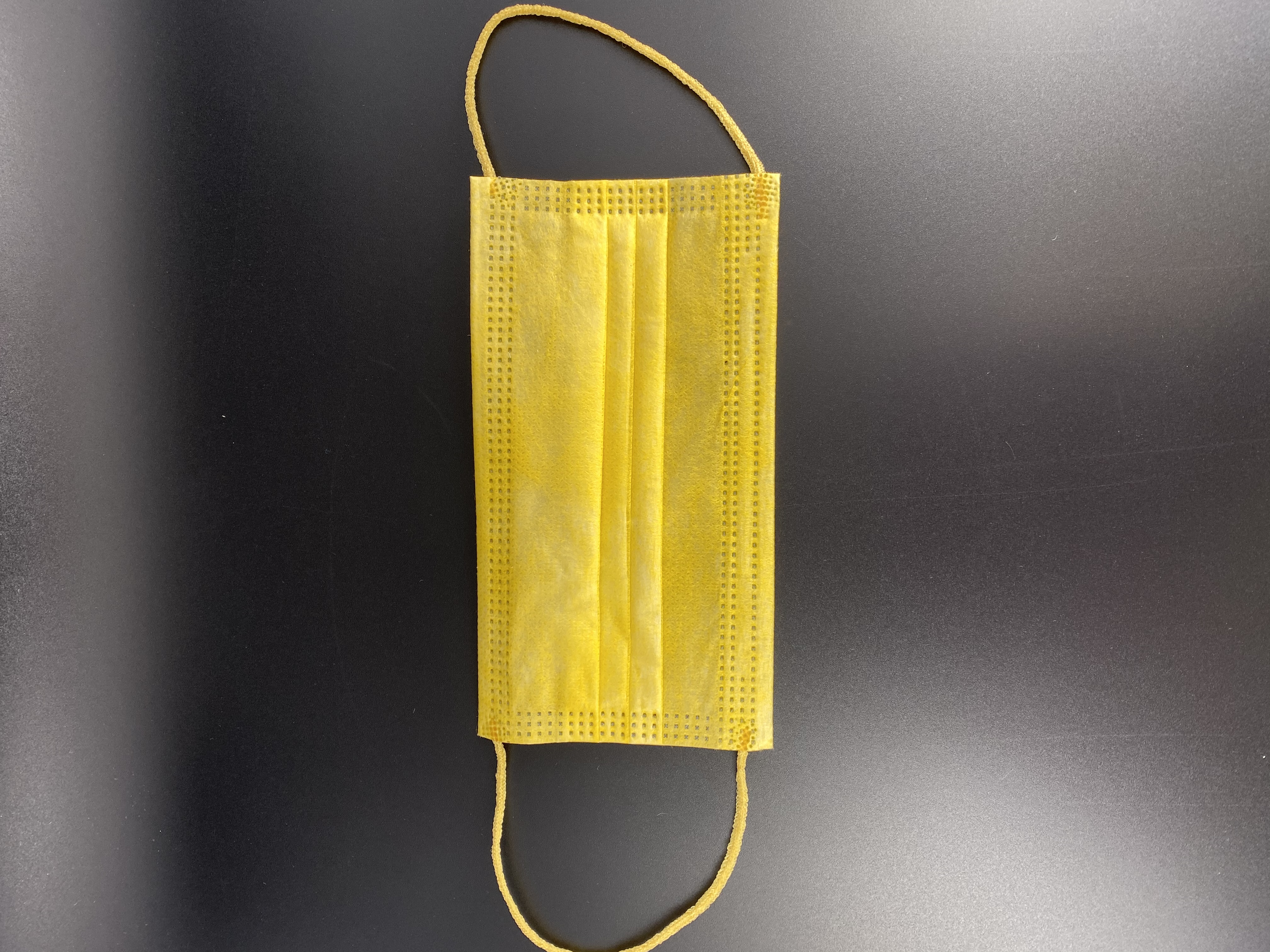 Mediroc - Medizinischer Mundschutz für Kinder, Gelb, Typ IIR, 3-lagig, CE-zertifiziert, 10 Stück