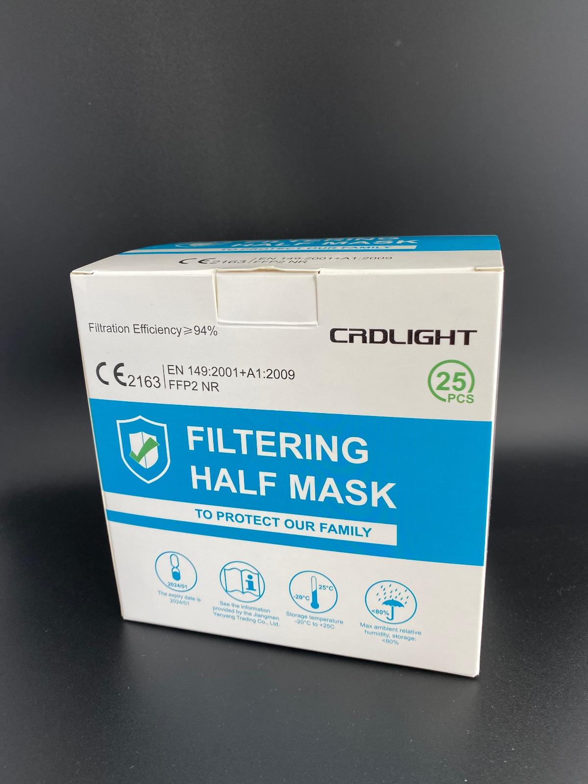 CRDLIGHT FFP2 MASKE CE2163
