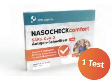 Lepu Medical 1er Laientest Nasocheck comfort Schnelltest