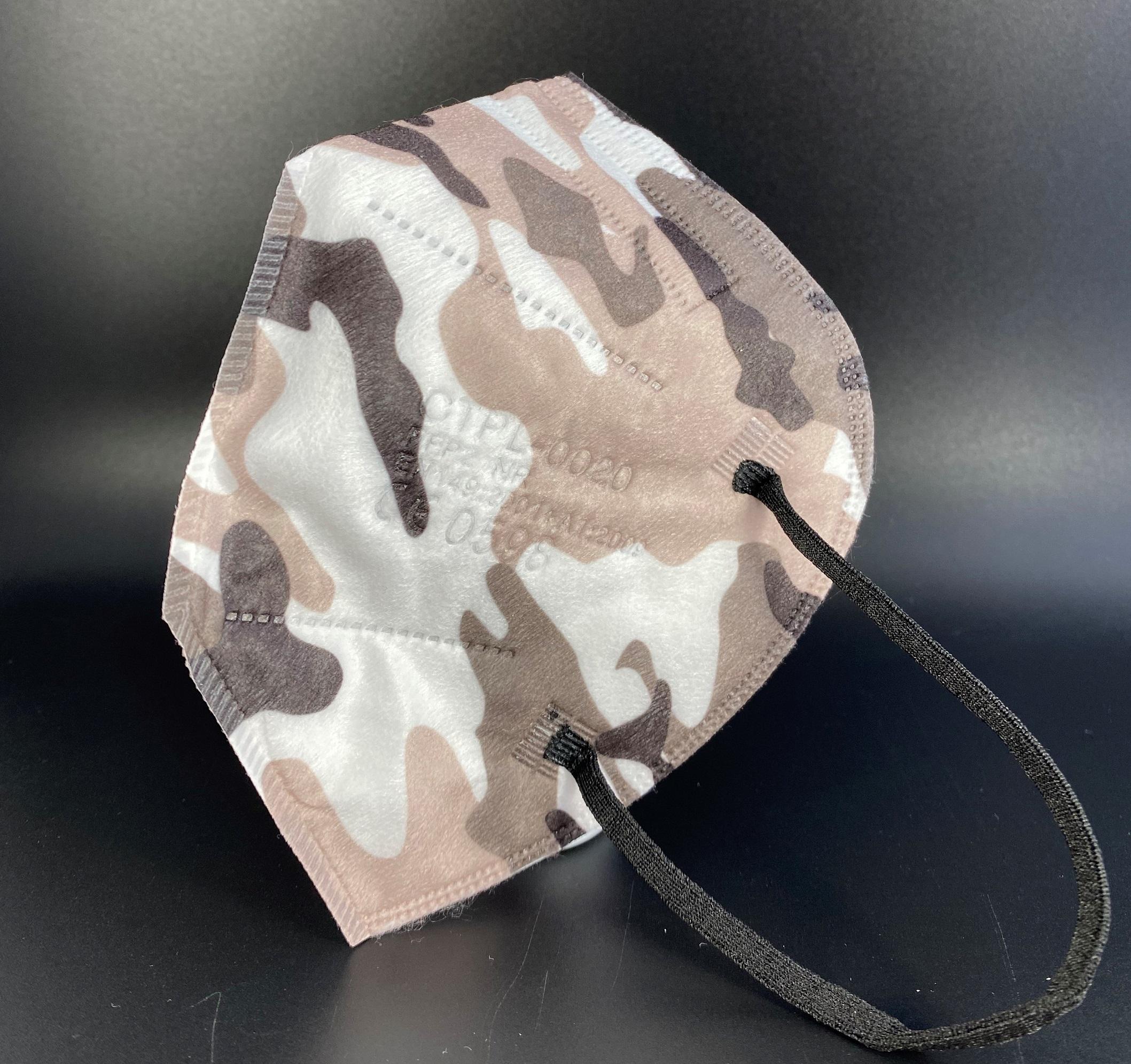 CTPL-0020 FFP2 NR Maske CE0598 5-lagig Camouflage